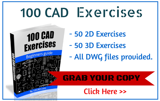 AutoCAD exercises