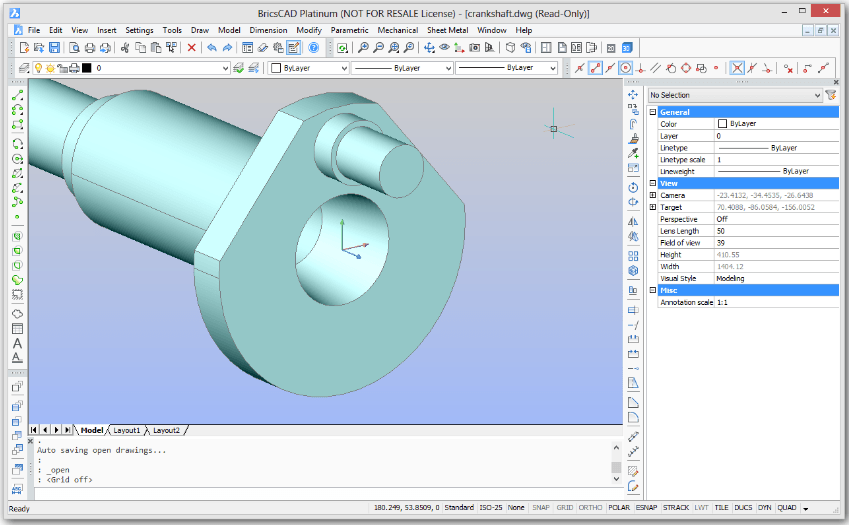 BricsCAD is definetely an alternative to AutoCAD for lower budget, and