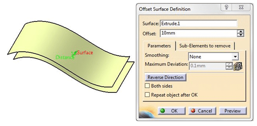 Surface Modeling in CATIA