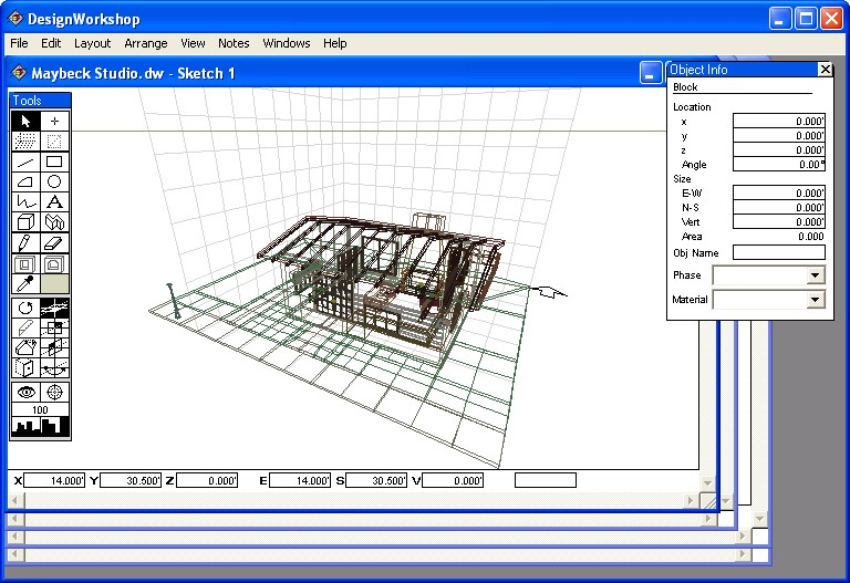 Free architecture software for Free architectural drawing program