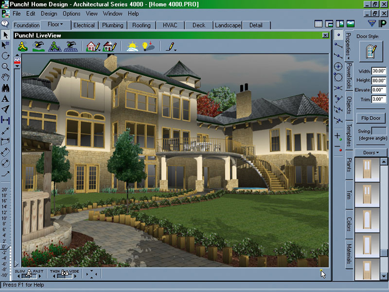 Home design software Software for home design