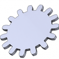 how to Create a spur gear in solidworks
