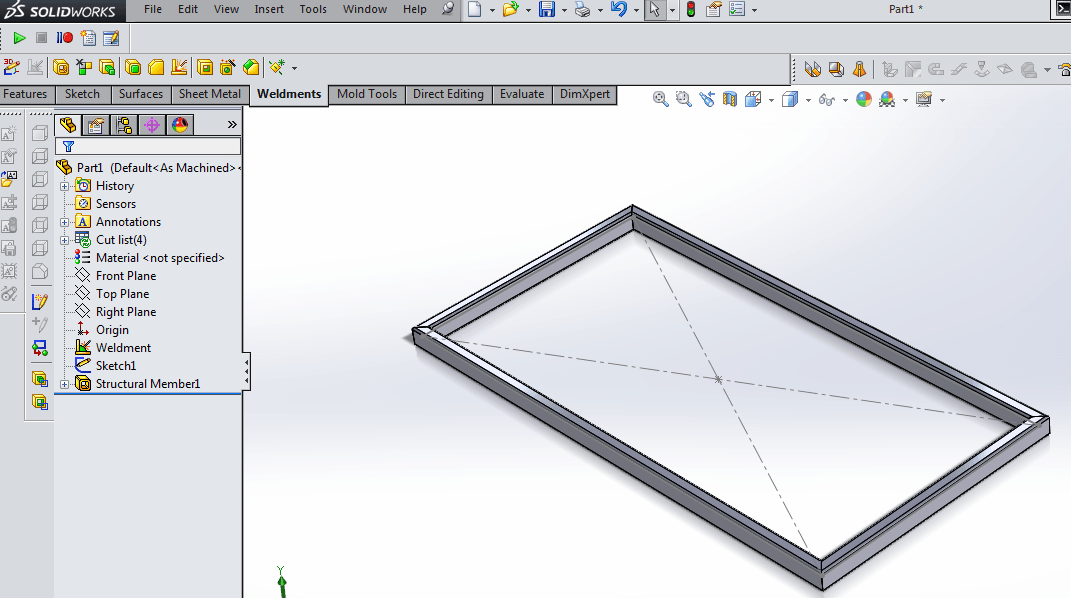 Basic Weldment Profiles in SolidWorks - 12CAD.com